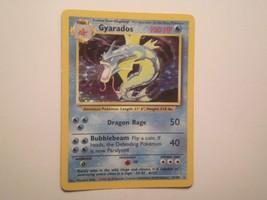 Pokemon Card - Gyarados - (6/102) Base Set Rare Holo ***NM*** - $12.99