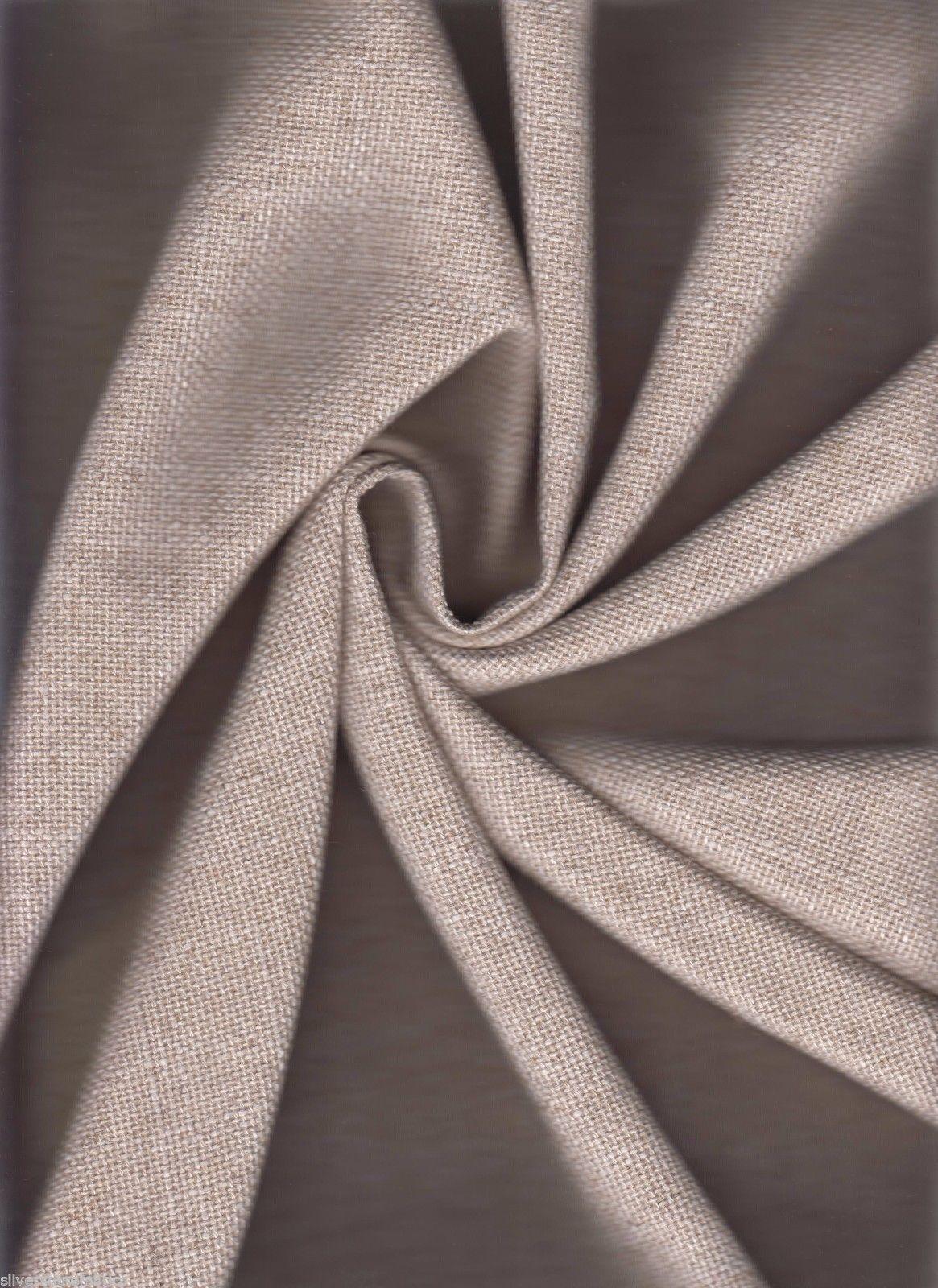 Coraggio Tela para Tapizar Rústico Weave Lino Blanco Crudo 3.4m GV4