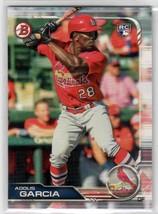2019 Bowman Adolis Garcia RC #84 St. Louis Cardinals - $0.89