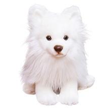 Luckstar Pomeranian Dog Plush Toy, 9-Inch, White - $24.43