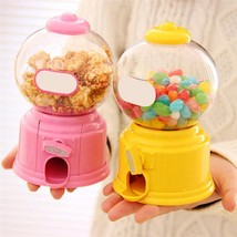 Mini Candy Machine Sweets Gumball Snacks Cute Dispenser Kids Coins Toy B... - $9.59