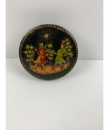 Vintage Russian Trinket Box - $98.99
