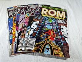 7 ROM Marvel Comic Books 1983 38 39 40 41 42 44 45 - $25.00
