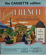 Living French Complete Language Course 40 Lessons 2 Audio Vintage [Audio... - $39.60