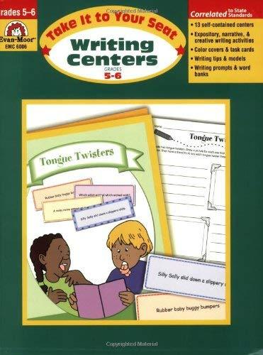 Primary image for Take It to Your Seat Writing Centers, Grades 5-6 [Paperback] Evan Moor