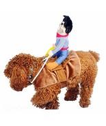 Hotumn Christmas Dog Costume Pet Costume Pet Suit Cowboy Rider (L|Cowboy... - $22.78