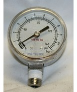 Millipore Pressure Gauge with Bottom Connect – USED Dry gauge – plastic ... - $29.69