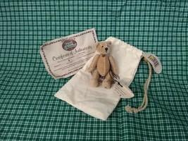 Flopsie Ganz Cottage Collectibles Teddy Bear Miniature 3.5 inches tall - $9.89