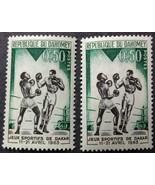 1963 Boxing Postage Stamp Jeux Sportifs de Dakar - $1.95