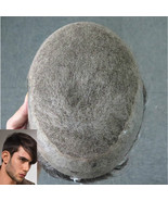 Full Swiss Lace Hair Systems with Thin Skin Topper Toupee for Thinning H... - $139.30