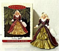 Vintage 1996 Hallmark Keepsake Holiday Barbie Christmas Ornament - New i... - $6.99