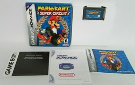 Mario Kart Super Circuit Game Boy Advance 2001 Box Manual Game Case COMPLETE - $72.75