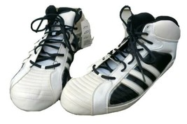 Adidas University III Mid Mens American Football Cleats Shoes Size 16 White NWT - $35.09