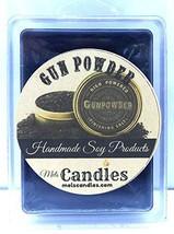 Mels Candles & More Gun Powder 3.2 Ounce Wax Tarts - Scent Brick Wax Melts - $6.80