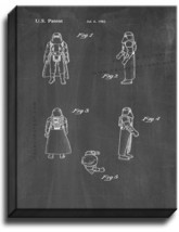 Star Wars Hoth Stormtrooper Patent Print Chalkboard on Canvas - $39.95+