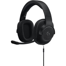 Logitech G433 7.1 Wired Surround Gaming Headset - Stereo - Black - Mini-phone -  - $109.78