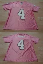 Women's Minnesota Vikings Bret Favre M Jersey (Pink) NFL Team Apparel Je... - $18.69