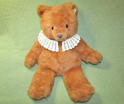 """22"""" Vintage Gund Teddy Bear 1987 Stuffed Animal Furry Tan Jc Penney Plastic Tag - $34.65"""