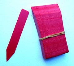 """50 Red Plastic Plant Stakes Labels Nursery Tags Made in USA - 4"""" X 5/8"""" - $9.89"""