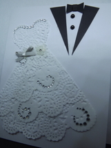 "Wedding card /  ""May your new lives together abound in love today, tomor... - $7.50"