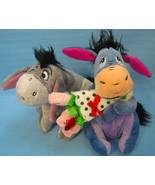 Eeyore Disney Winnie the Pooh 2 Plush Soft Toy Collectibles - $14.95