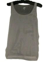 Women's Gray Tank Size Xs Ann Taylor Loft - $9.00