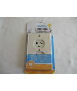 Safety First Swivel Outlet cover Up White - $7.99
