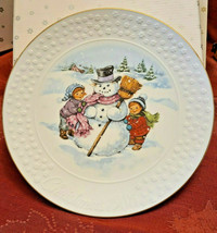 Avon CHRISTMAS PLATE 1986 A Child's Christmas