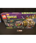 Teenage Mutant Ninja Turtles Lego Set 79121 Turtle Sub Undersea chase se... - $65.20