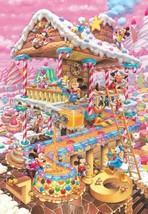 Tenyo Jigsaw Puzzle Disney Funny Funny House 1000 Piece Japan - $68.28