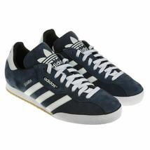 Adidas Original Samba Super Veloursleder Herren Turnschuhe Leder - Marin... - $73.73