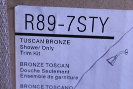 Pfister R89-7STY Santiago One-Handle Shower Trim, Tuscan Bronze - $100.00