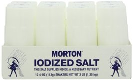 Morton Disposable Salt Shakers, 12 Count (Pack of 4) - $39.59