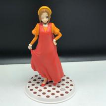 ANIME ACTION FIGURE collectible display manga figurine BP2011 orange dress japan - $31.68