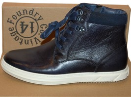 Shoes NEW Leather 299 Foundry Boots Size High US Top Blue Vintage Rv0czEunyHMen's 11 YAwqtnP