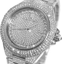 Michael Kors MK5869 Women's Camille Silver Stainless-Steel Quartz Chrono Watch - $163.67
