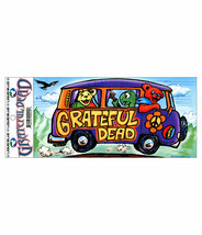 Grateful Dead Bus Outside Vinyl  Sticker  Deadhead  Car Decal - $5.49