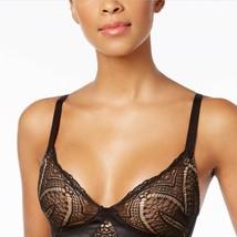 Calvin Klein CK Black audacious Lace & Satin Bra, Size S - $21.03