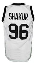 Tupac Shakur #96 Thug Life Custom Basketball Jersey New Sewn White Any Size image 5