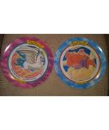 1997 Collectible McDonald's Zeus & Pegasus Disney Store PLATES Melamine ... - $39.59