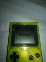 Game Boy Pocket Extreme green - $150.00