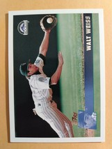 TOPPS 1996 CARD #149 WAL WEISS - $0.99