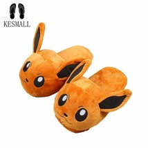 KESMAL® Women Anime Cartoon Pokemon Slippers Lovers Warm Woman Slippers - $18.05