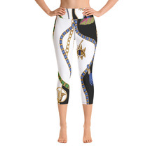 Designer Capri Leggings - (yoga, fitness, gym, workout, tights, health, ... - $59.00