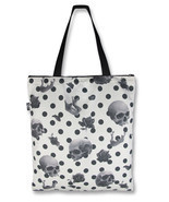 Liquor Brand Jaw Breaker Skull Rose Tattoo Punk Tote Bag Handbag Purse T... - ₨1,038.37 INR
