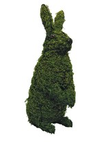 """Sitting Upright Rabbit 13"""", 21"""" and 34"""" Topiary Sculpture - Wire Frame o... - $53.38+"""