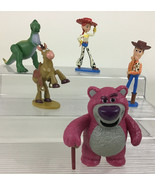 Toy Story Deluxe Figure Set 5pc Lot Sheriff Woody Jessie Bullseye Disney... - $16.88