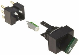 Omron A165W-J3MG-24D-2 Knob Type Selector and Switch, Solder Terminal, IP65 Oil- - $65.44