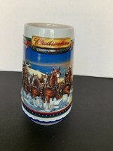 "Budweiser Holiday Stein ""Guiding The Way Home"" 2002 CS529 - $6.06"