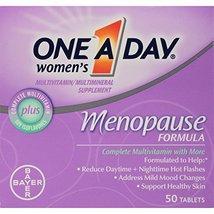 One-A-Day Women's Menopause Formula Multivitamin, 50-tablet Bottle image 2